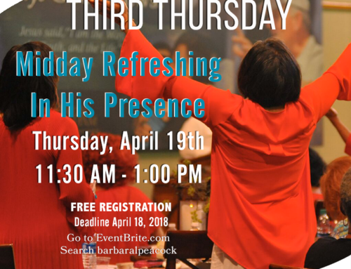 Third Thursday Prayer